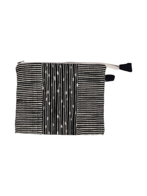 Maya Fabric Pouch - Black