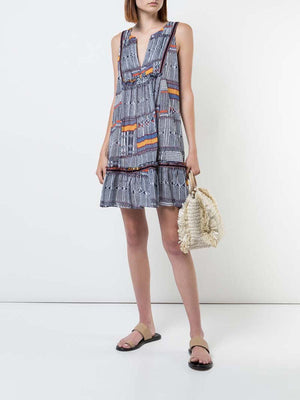 Kente Bib Dress