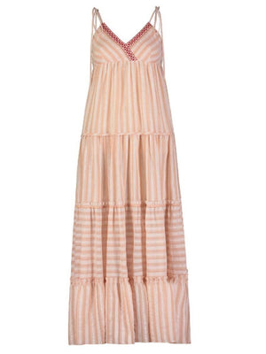 Nefasi Empire Dress - Coral