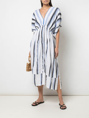 Aster Plunge Neck Dress