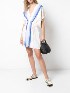 Biftu Short Plunge Neck Dress