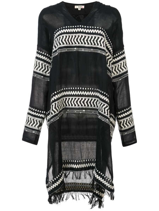Maya Short Hooded Caftan