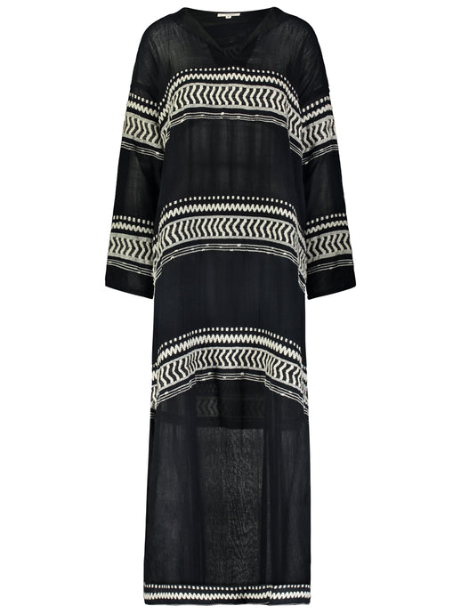 Maya Long Hooded Caftan