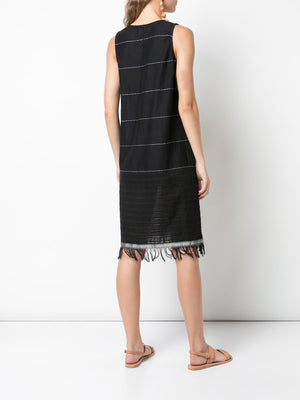 Tikuri V Neck Dress