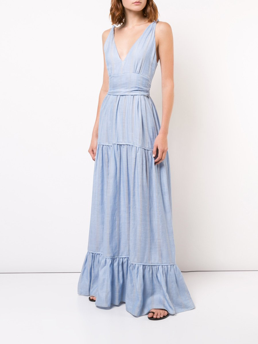 Bekele Tiered Maxi Dress