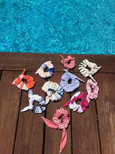 Semira Scrunchie (Swim Fabric)