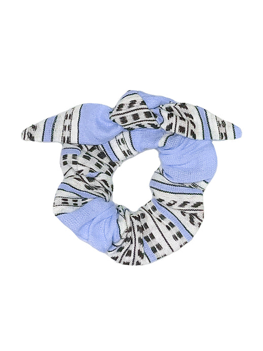 Amira Hair Scrunchie - Blue