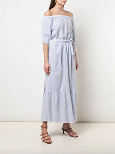 Semira Sky Off-Shoulder Dress