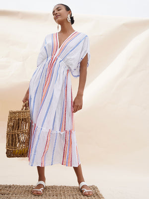 Hiwot Plunge Neck Dress