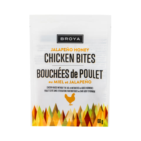 Jalapeno Honey Chicken Bites - Broya - 60 g