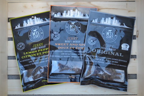 MTL Jerky Collection (3 Bags)