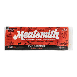 Maple Sriracha Sirloin Beef Bars - Meatsmith - 84g