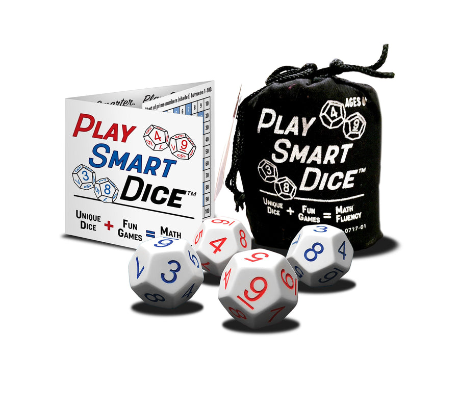 Dice Games with Roll Playing Game D20 Conversion Table: PlaySmart Dice RPG Pack