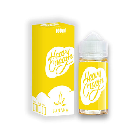 Image of Banana Cream - 100Ml / 3Mg - E-Liquid