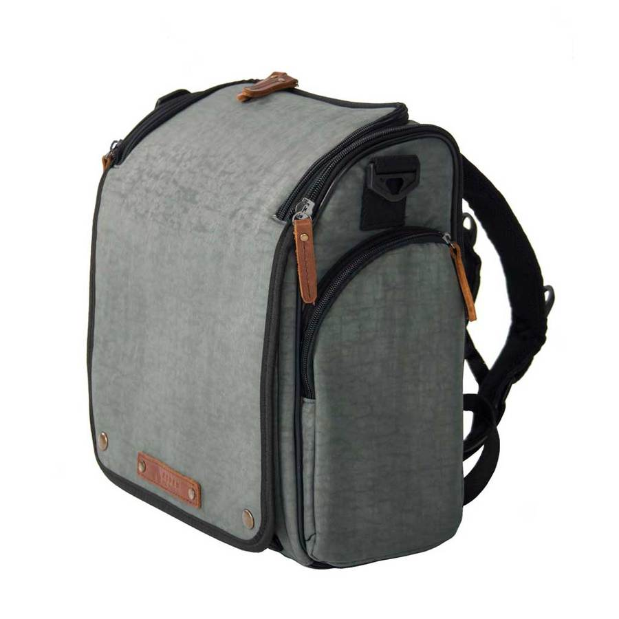 Forest Grey Aspen Tyke Diaper Bag for Dads