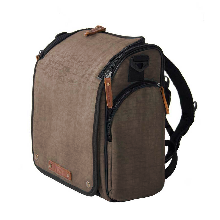 Dynamic Brown Aspen Tyke Diaper Bag for Dads