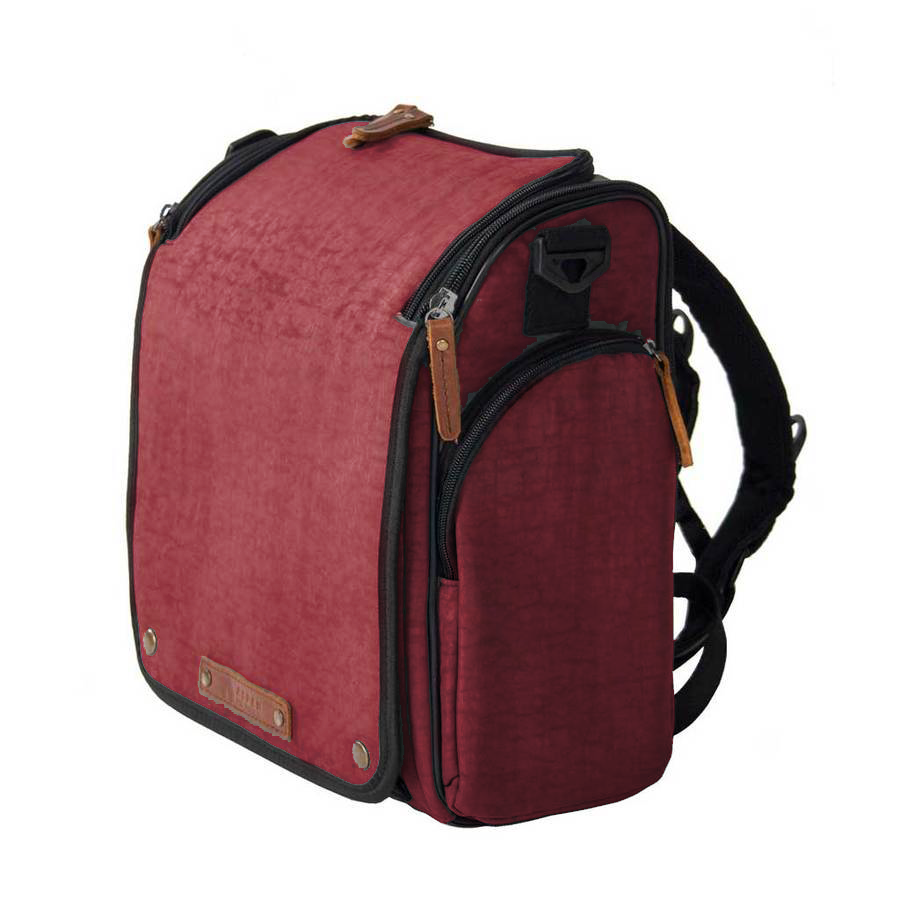 Urban Burgandy Aspen Tyke Diaper Bag for Dads