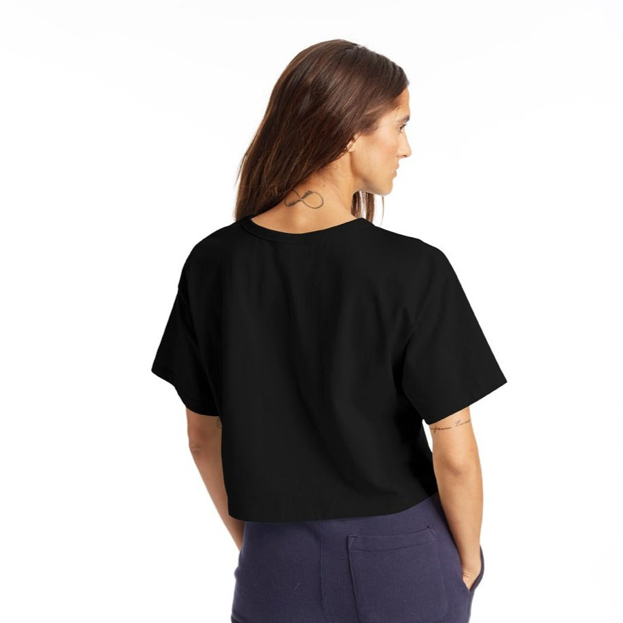 HERTIAGE CROPPED TEE