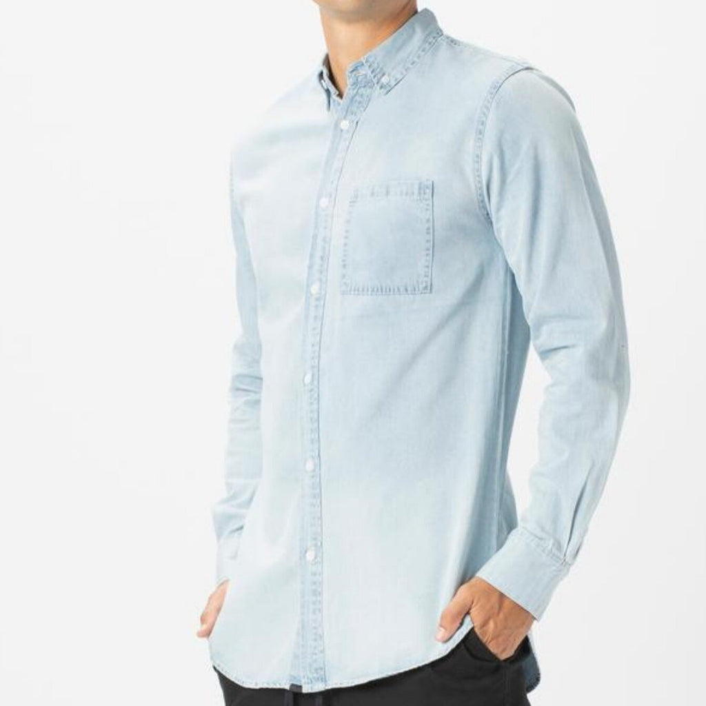 ZANEROBE DENIM LS SHIRT