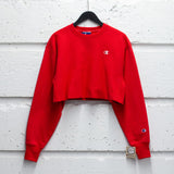 CHAMPION CROPPED CREWNECK W