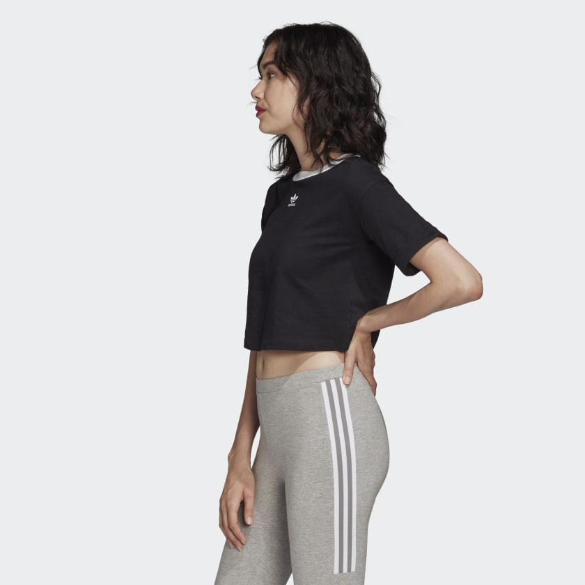 ADIDAS CROP TOP TREFOIL W
