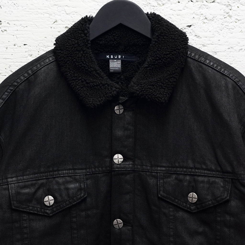 OH G JACKET TAINTED BLACK BORG