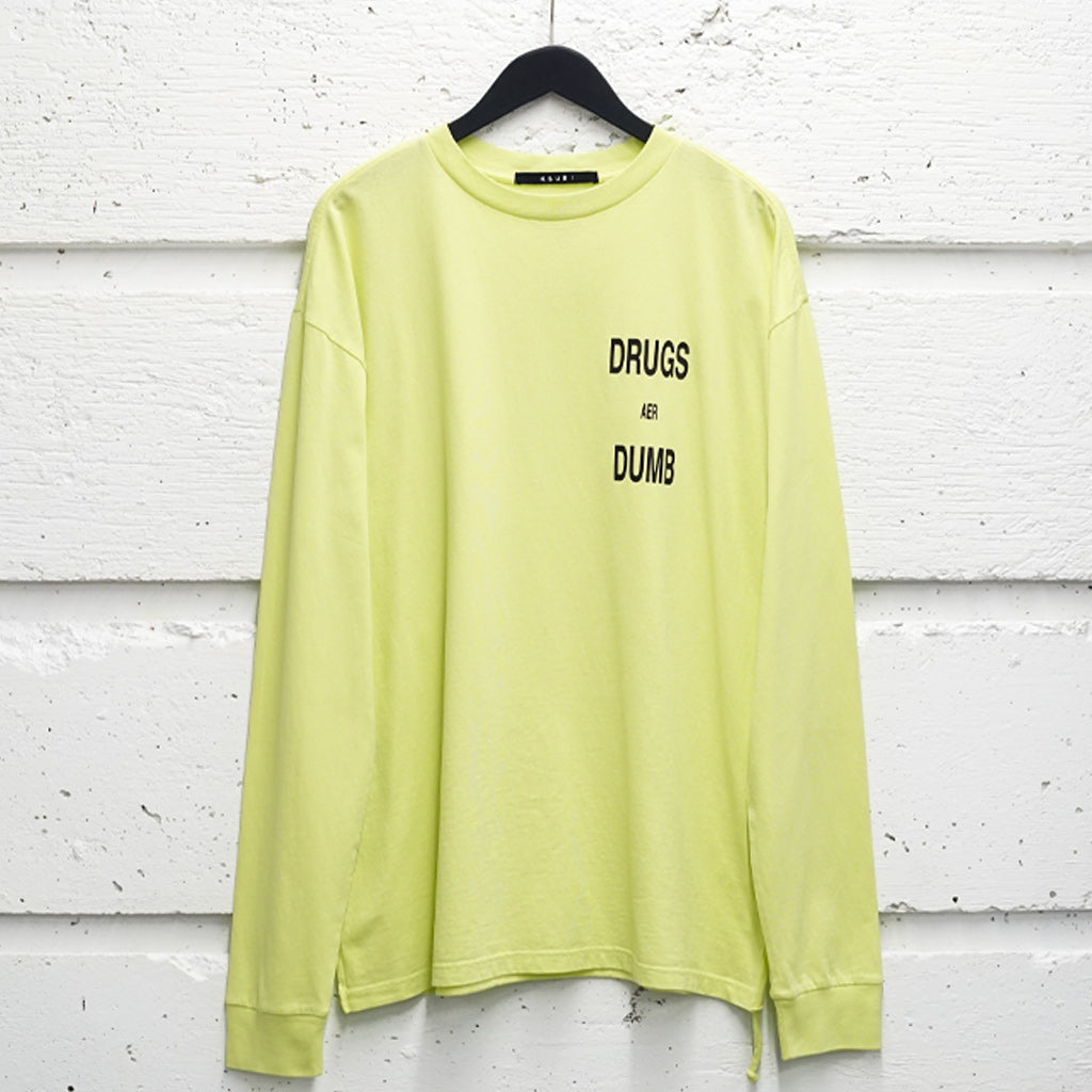 KSUBI DRUGS AER DUMB LS TEE ACID