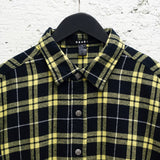 STEREO LS SHIRT CHECK YELLOW