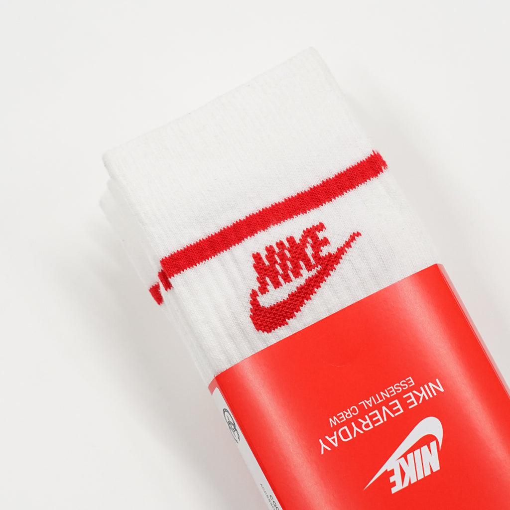 NIKE NSW ESSENTIAL CREW SOCKS X3