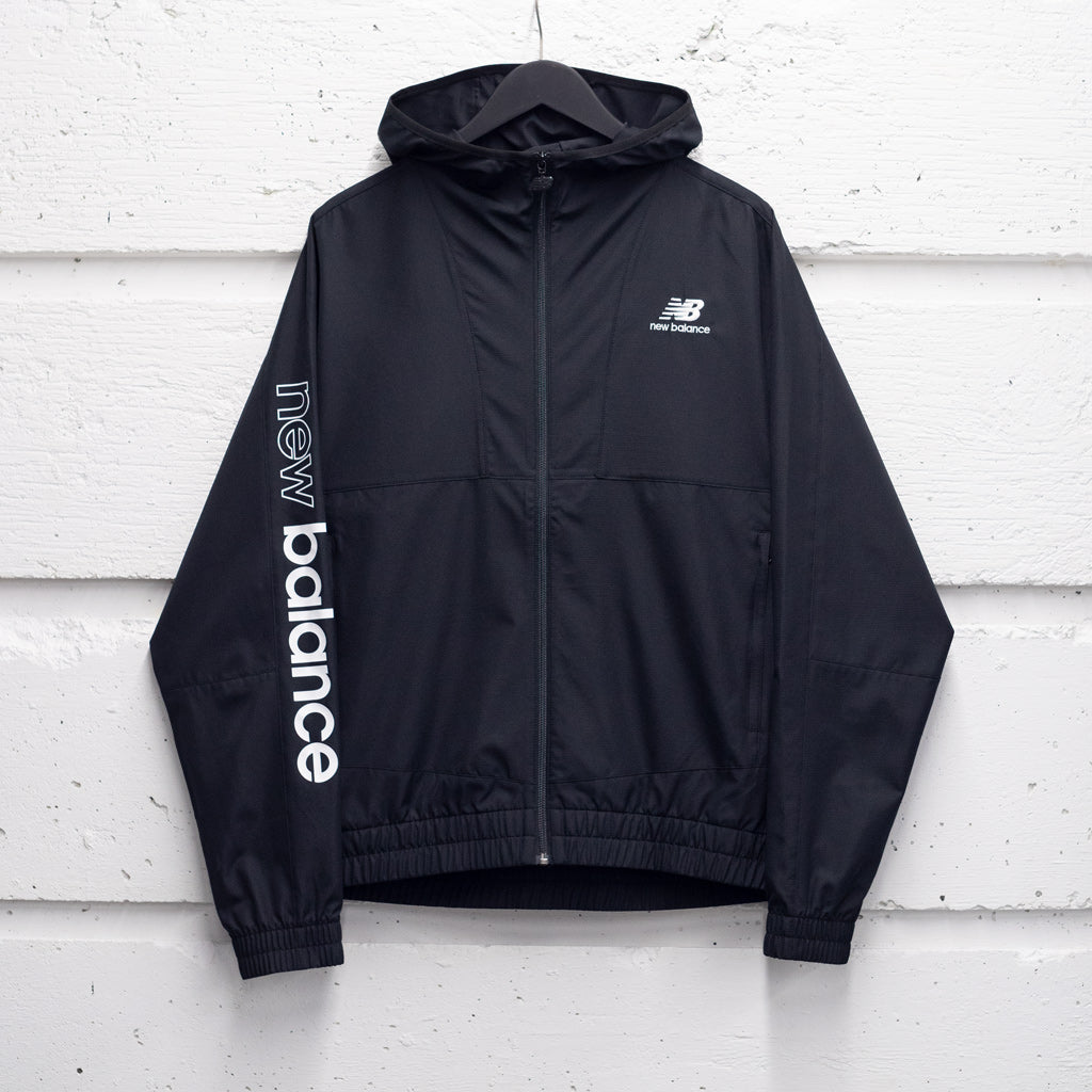 NEW BALANCE ATHLETICS FULL ZIP WINDBREAKER