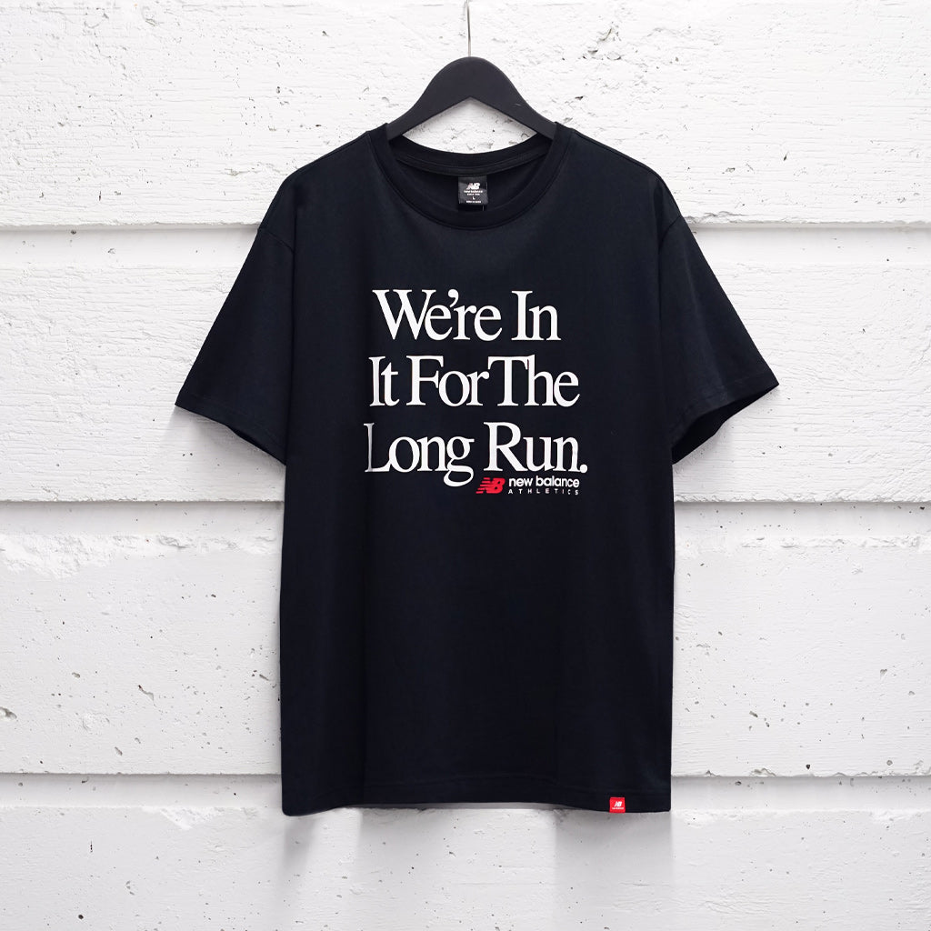 NEW BALANCE ESSENTIALS ICON LONG RUN TEE
