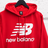 NEW BALANCE STACKED LOGO HOODIE