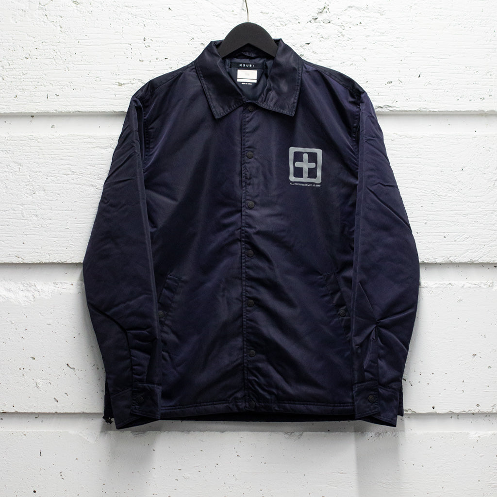 KSUBI SIGN OF THE TIMES UNLEADED COACH JACKET