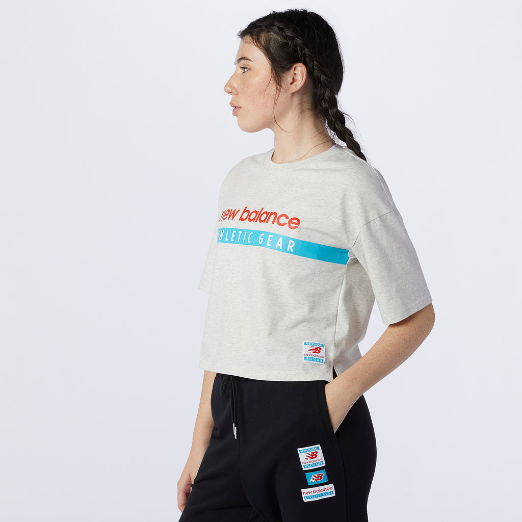 NB ESSENTIAL FIELD DAY TEE W