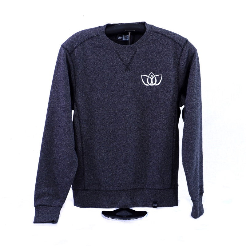 French Terry Crew-neck Sweatshirt