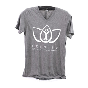 V-Neck Shirt - Light Gray