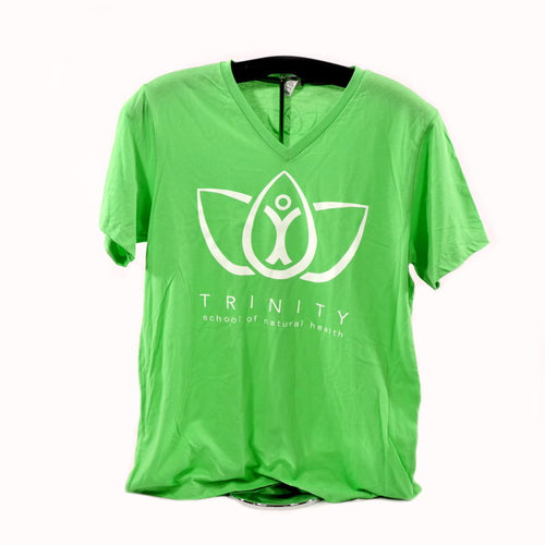 V-Neck Shirt - Neon Green