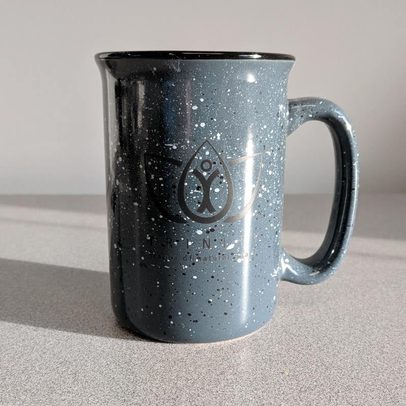 Campfire Mug with Black Logo