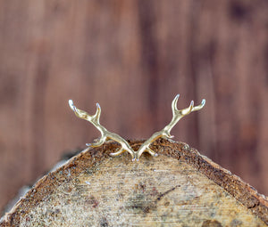 Antler Ring plated in Gold Vermeil