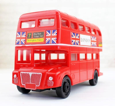 tirelire bus anglais rouge