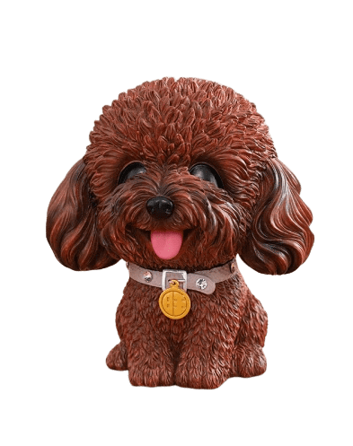 Tirelire<br/> Caniche Marron - Tirelissimo