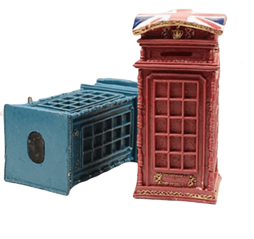 Tirelire Cabine UK