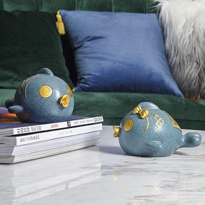 Tirelire Poisson Design