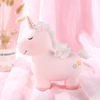 Tirelire Licorne<br> Rose-Tirelire licorne incassable rose et bleu-Tirelissimo