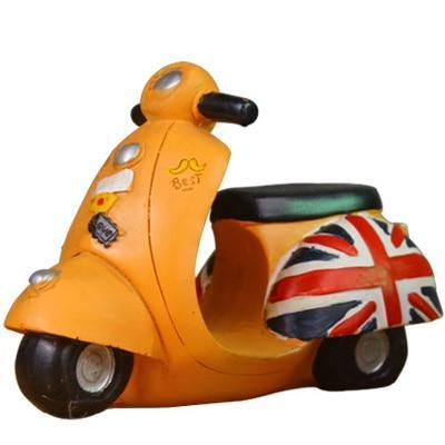 Tirelire Scooter Anglais