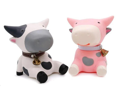 Tirelire Vache Assise
