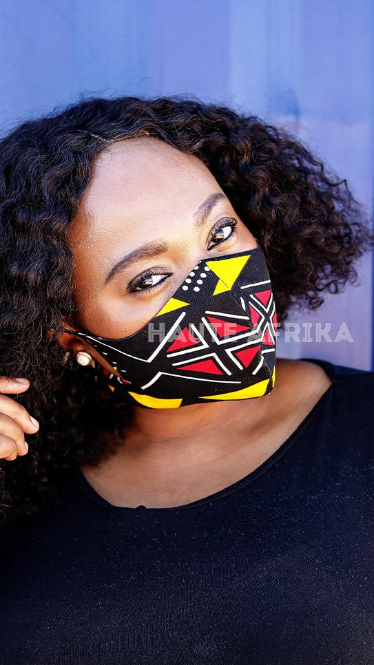 Black Samakaka Face Mask