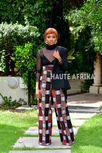 The Abidjan Flared Pants