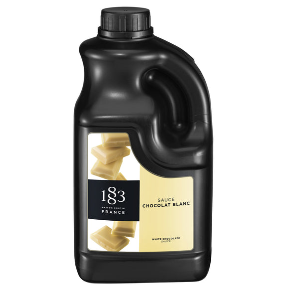 1883 - White Chocolate Sauce 1,89 L