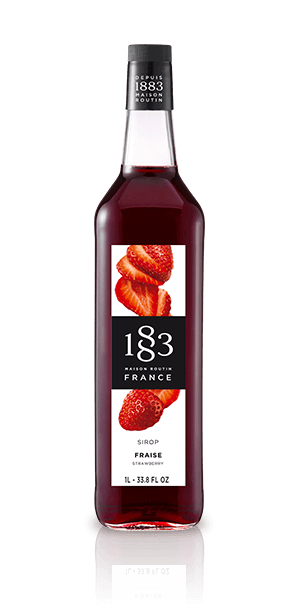 1883 - Sirup Strawberry (Jordbær) 1 L